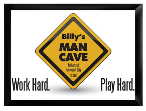 Personalized Pub Sign Work Hard, Play Hard  Peersonalized Pub Sign Work Hard, Play Hard Home & Garden > Decor > Plaques