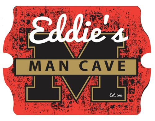 Personalized Vintage Man Cave Sign Personalized Vintage Man Cave Sign Home & Garden > Decor > Novelty Signs