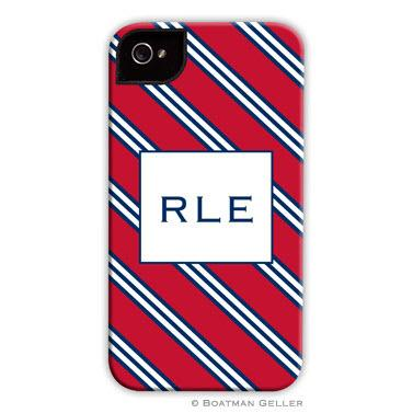 Personalized iPhone Case Repp Tie  Electronics > Communications > Telephony > Mobile Phone Accessories > Mobile Phone Cases