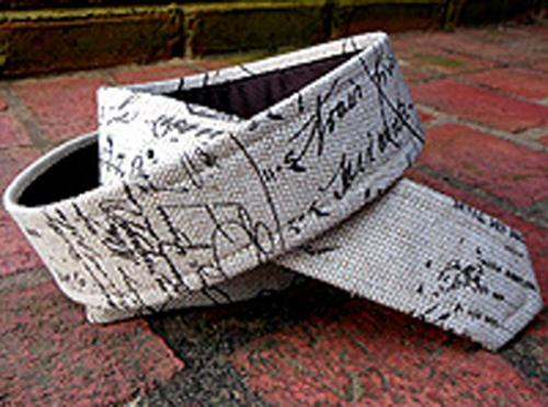 Loopty Loo French Script fabric belt strip  Apparel & Accessories > Clothing Accessories > Belts