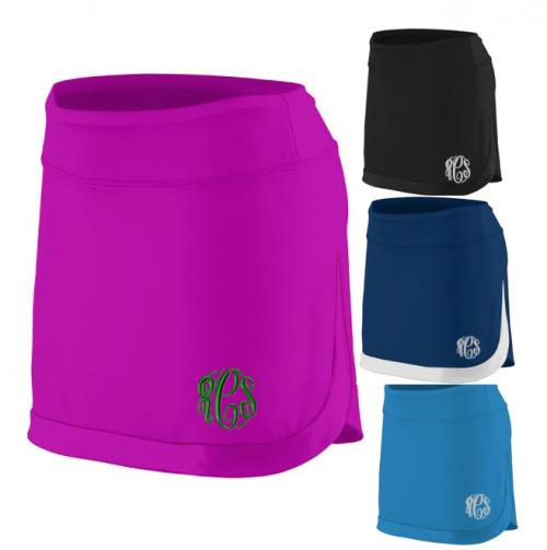 Monogrammed Ladies Tennis Skirt  Apparel & Accessories > Clothing > Activewear > Active Skirts