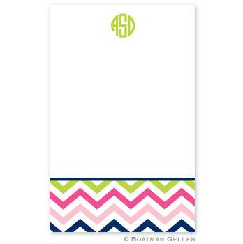 Personalized Notepad in Chevron Pattern  Office Supplies > General Supplies > Paper Products > Notebooks & Notepads