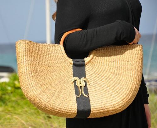 Queen Bea Coastal Shorty Florida Basket  Apparel & Accessories > Handbags > Tote Handbags