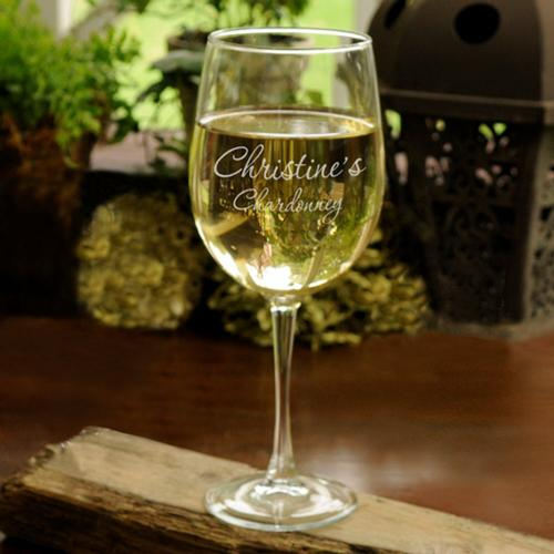 Personalized White Wine Goblet Personalized White Wine Goblet Home & Garden > Kitchen & Dining > Tableware > Drinkware > Stemware > Wine Glasses