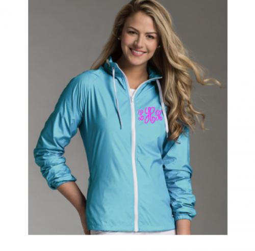 SALE Monogrammed Wind and Water Resistant Lightweight Jacket  Apparel & Accessories > Clothing > Outerwear > Coats & Jackets