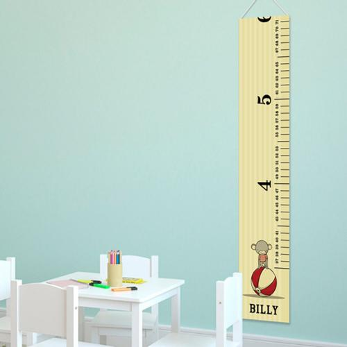 Personalized Growth Chart Circus Prince  Personalized Growth Chart Circus Prince  Home & Garden > Decor