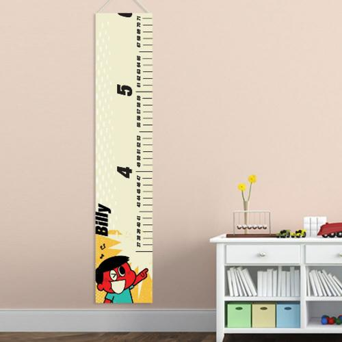 Personalized Height Growth Chart Retro Boy Personalized Height Growth Chart Retro Boy's  Home & Garden > Decor