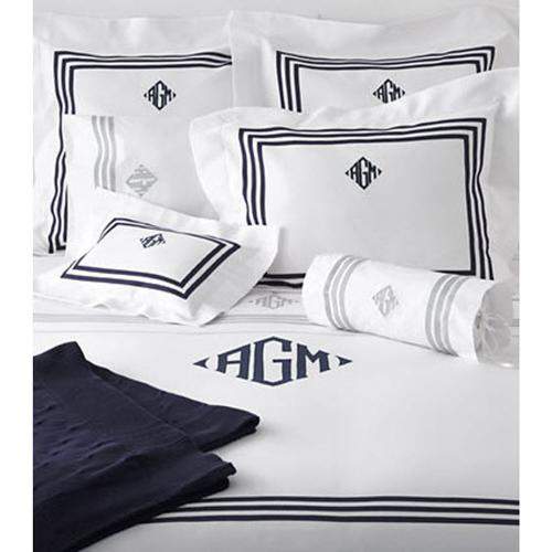 Matouk Newport Monogrammed Bedding Collection Matouk Newport Monogrammed Bedding Collection Home & Garden > Linens & Bedding > Bedding