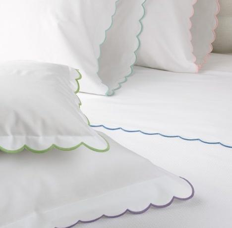 Matouk Portofino Easy Care Standard Pillow Cases Pair  No Monogram  Home & Garden > Linens & Bedding > Bedding > Pillowcases & Shams
