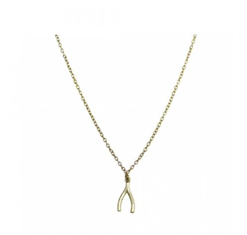 Wishbone Necklace  Apparel & Accessories > Jewelry > Necklaces