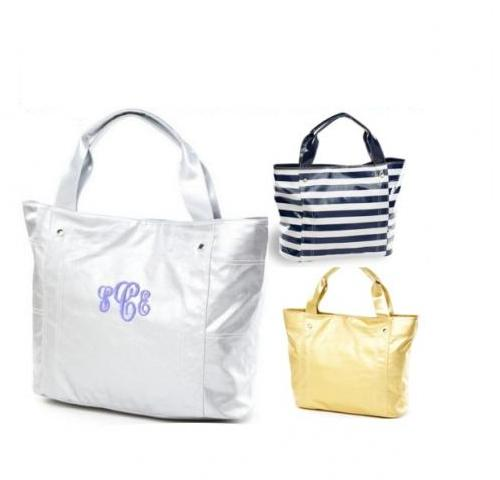 Monogrammed Large Wellie Travel Tote  Apparel & Accessories > Handbags > Tote Handbags