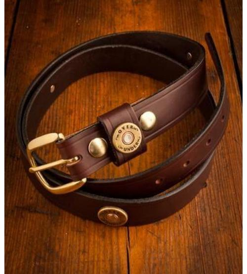 Men's Cannon's Point Multi-Shot Leather Belt  Apparel & Accessories > Clothing Accessories > Belts