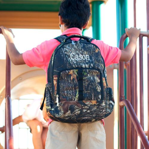 Personalized Woods Camo Backpack  Luggage & Bags > Backpacks