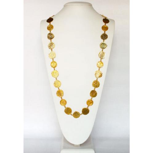 Lisi Learch LL Coin  Necklace LIsi Lerch LL Coin Necklace Apparel & Accessories > Jewelry > Necklaces