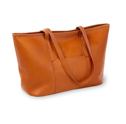 Personalzed Lucy Luxury Leather Tote   Apparel & Accessories > Handbags > Shoulder Bags