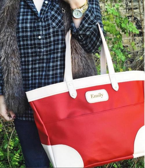 Jon Hart Personalized Houstonian Tote  Apparel & Accessories > Handbags > Tote Handbags
