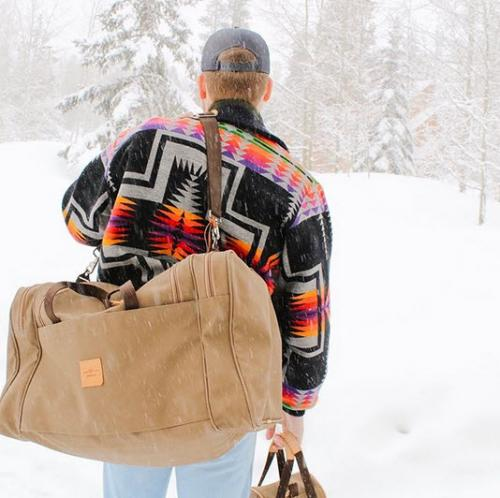 Jon Hart Designs Large Square Duffel   Luggage & Bags > Duffel Bags