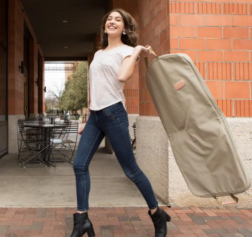 Jon Hart Designs  Canvas Mainliner Garment Bag  Luggage & Bags > Business Bags > Garment Bags
