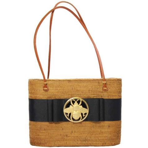 LOB Bag Ribbon and XL Motif  Apparel & Accessories > Handbags > Tote Handbags