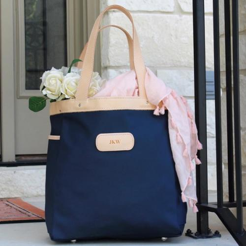 Jon Hart Petite Left Bank Personalized Tote  Apparel & Accessories > Handbags > Shoulder Bags