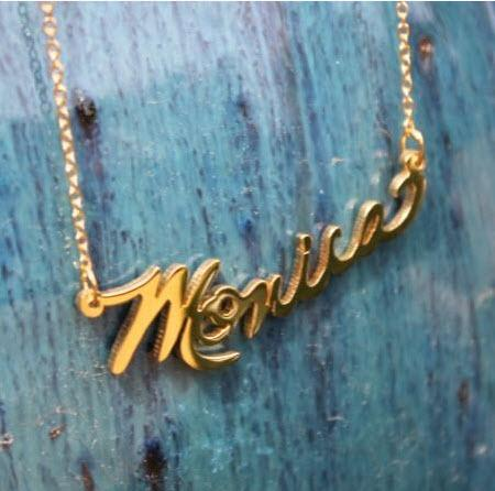 Your Signature Necklace Upload Your Signature  Apparel & Accessories > Jewelry > Necklaces