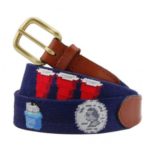smathers and branson needlepoint college life belt