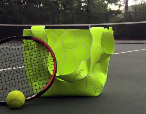 Monogrammed Tennis Ball Tote Bag  Monogrammed Tennis Ball Tote Bag  Apparel & Accessories > Handbags > Tote Handbags