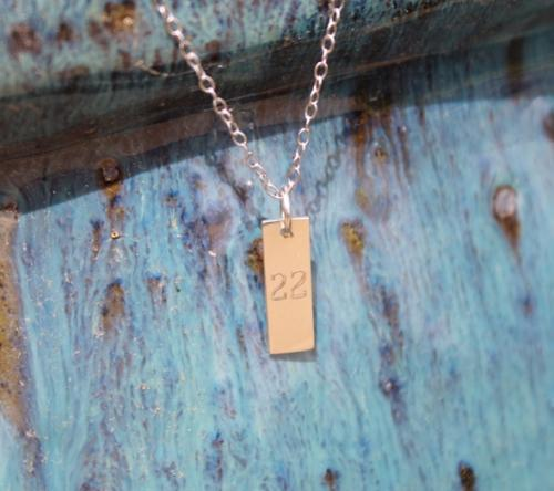 Mini Vertical Bar Necklace  Apparel & Accessories > Jewelry > Necklaces