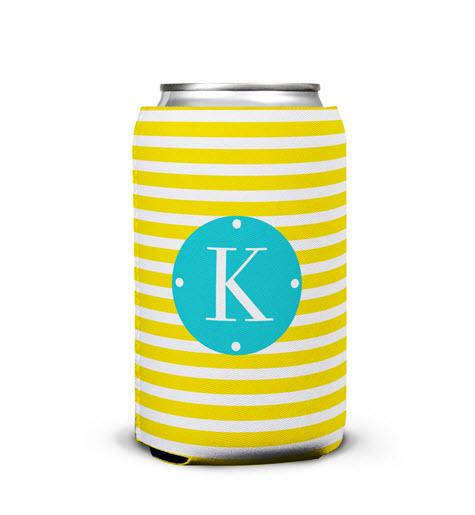 Cabana Personalized Can Koozie  Home & Garden > Kitchen & Dining > Food & Beverage Carriers > Drink Sleeves > Can & Bottle Sleeves