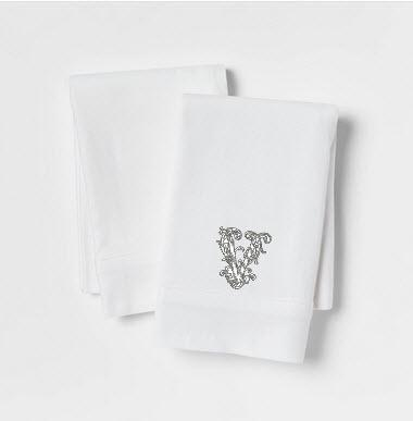 Monogrammed Pillow Cases- set of 2  Home & Garden > Linens & Bedding > Bedding