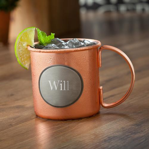 Monogrammed Copper Moscow Mule Mug  Home & Garden > Kitchen & Dining > Tableware > Drinkware > Tankards & Beer Steins