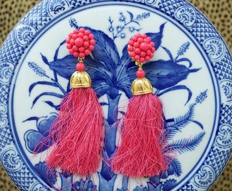 Lisi Lerch Coco Tassel Earrings Several Colors  Apparel & Accessories > Jewelry > Earrings