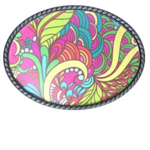 Loopty Loo Mirage Belt Buckle  Mirage Belt Buckle  Apparel & Accessories > Clothing Accessories > Belt Buckles