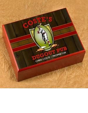 Personalized Cigar Humidor Dugout Pub  Personalized Cigar Humidor Dugout Pub  Arts & Entertainment > Party & Celebration > Gift Giving