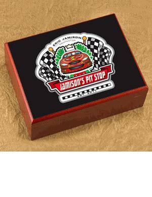 Personalized Racing Cigar Humidor  Personalized Cigar Humidor Racing  Arts & Entertainment > Party & Celebration > Gift Giving