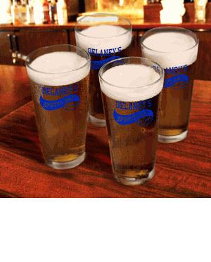 Personalized Glass Set Sports Bar Pub   Home & Garden > Kitchen & Dining > Tableware > Drinkware > Pint Glasses