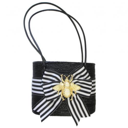 MOB Bag Bow and Motif  Apparel & Accessories > Handbags > Tote Handbags