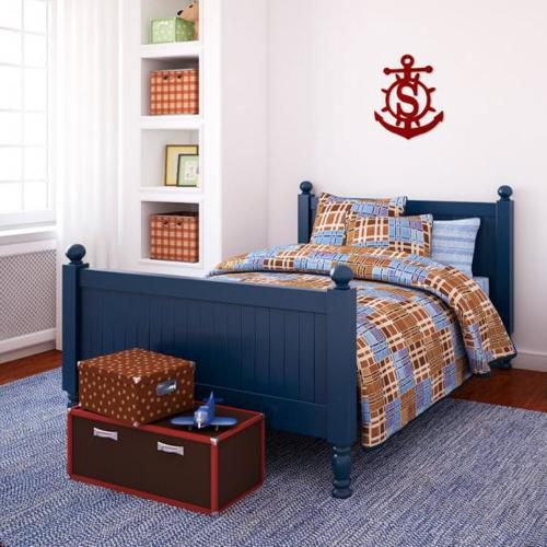 Anchor Wood Monogram Personalize to Your Decor  Home & Garden > Decor > Plaques
