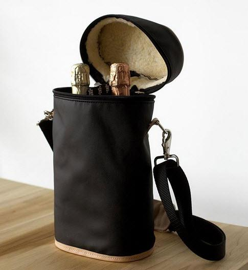 Jon Hart Monogrammed Make it a Double Wine Tote  Home & Garden > Kitchen & Dining > Food & Beverage Carriers > Coolers