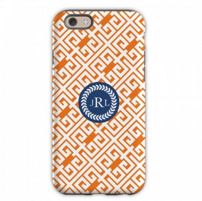 Personalized iPhone Case Greek Key   Electronics > Communications > Telephony > Mobile Phone Accessories > Mobile Phone Cases