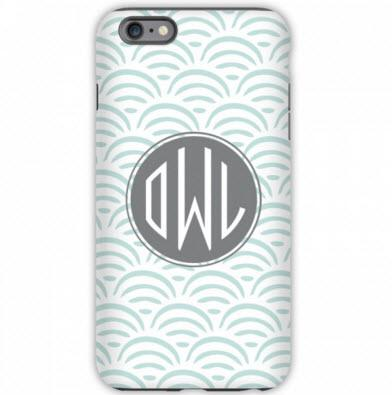 Monogrammed iPhone Tough Case Ella  Electronics > Communications > Telephony > Mobile Phone Accessories > Mobile Phone Cases