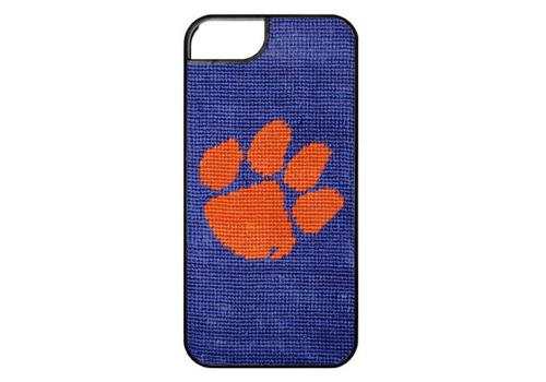 Smathers and Branson Clemson University Needlepoint iPhone Case Clemson Needlepoint iPhone Case Electronics > Communications > Telephony > Mobile Phone Accessories > Mobile Phone Cases