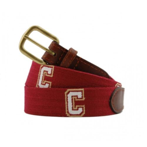 Smathers and Branson College of Charleston Needlepoint Belt  Apparel & Accessories > Clothing Accessories > Belts
