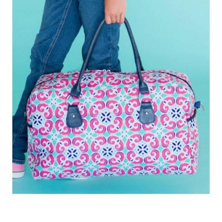 ON SALE! Monogrammed Travel Duffel Mia Design   Luggage & Bags > Duffel Bags