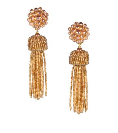 Lisi Lerch Champagne Tassel Earrings   Apparel & Accessories > Jewelry > Earrings