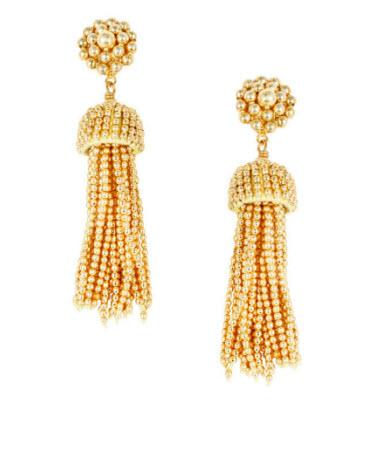 Lisi Lerch Gold Tassel Earrings   Apparel & Accessories > Jewelry > Earrings