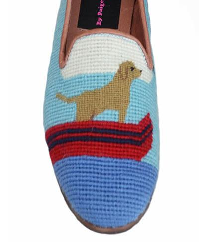 By Paige Yellow Labs on Lake Ladies Needlepoint Loafers   Apparel & Accessories > Shoes > Loafers