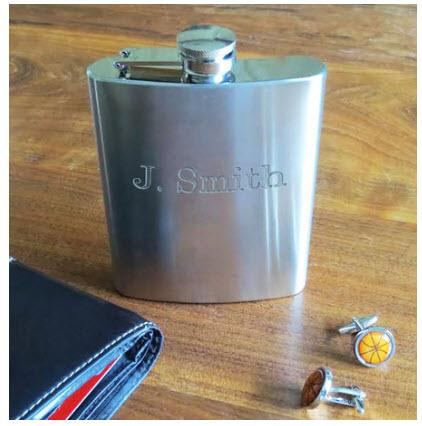 Personalized Stainless Steel Flask  Home & Garden > Kitchen & Dining > Food & Beverage Carriers > Flasks