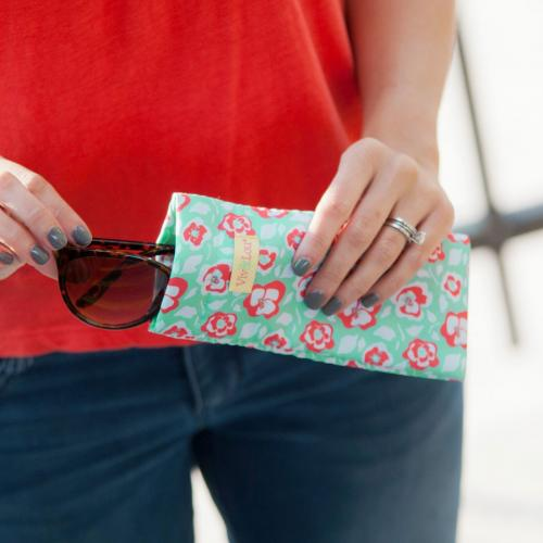 Flora Bora Eyeglass Case Flora Bora Eyeglass Case Apparel & Accessories > Clothing Accessories > Sunglasses