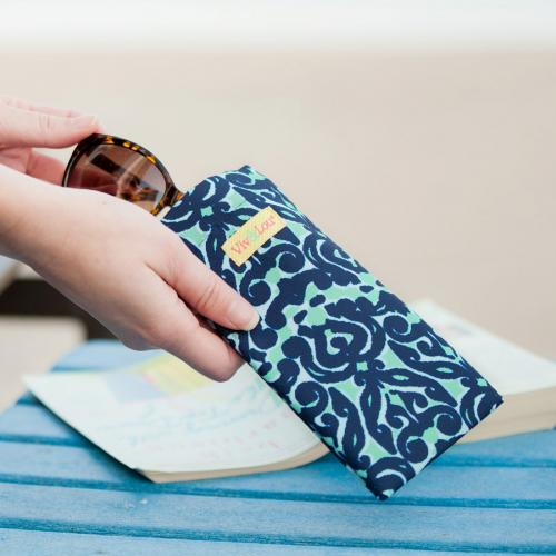 Luna Lagoon Eyeglass Case Luna Lagoon Eyeglass Case Apparel & Accessories > Clothing Accessories > Sunglasses
